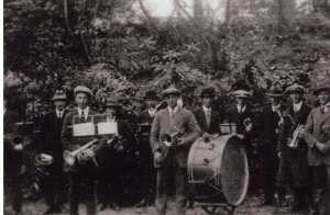 Thornbury band c 1930