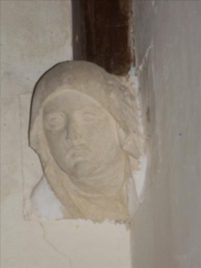 Blessed Virgin corbel