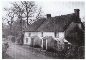 Cottages next to school